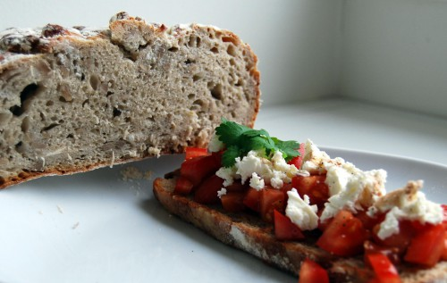 Eltefritt brød, perfekt til bruschetta