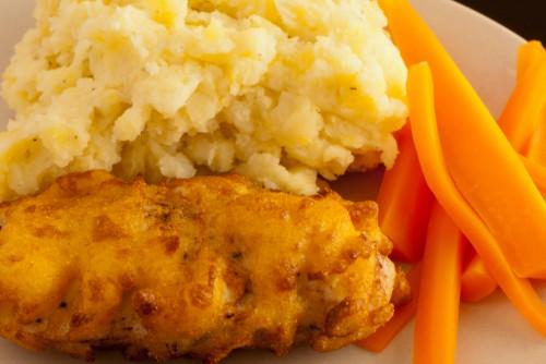 Frityrstekt kylling, med og uten Sous Vide