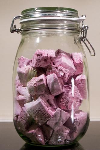 Blåbær Marshmallows
